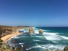 Traveling along the Great Ocean Road today with @tinamarieparker and @audio2go #12apostles #greatoceanroad #Australia by ericparkermusic http://ift.tt/1ijk11S