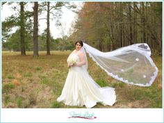 beautifully classic bridal portraits, bride, wedding pictures, photos before the wedding, wedding dress, Palette of Petals, Fresh Look Photography, cathedral length veil