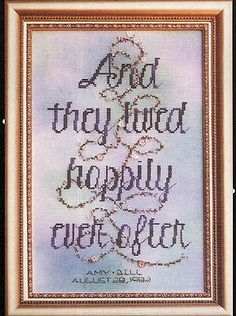 I would like something like for a pillow...  Happily Ever After (Wedding)