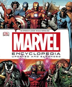 """""""[A] book that mankind has been hungering for, a book that is--now and forever--a shining beacon of wonder, a titanic tribute to talent unleashed"""" --Stan Lee. Marvel Encyclopedia, New Edition Hardcover – April 2019 by Stan Lee (Author), DK (Author). Ms Marvel, Marvel Heroes, Captain Marvel, Stan Lee, Marvel Comic Books, Marvel Characters, Book Characters, X Men, Captain America"""