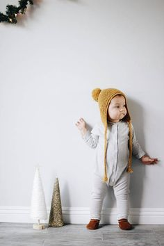 This romper is made of super soft and stretchy knit fabric. The romper is closed at the front with snaps. Plenty of room for a … Baby Outfits, Kids Outfits, Toddler Boy Haircuts, Toddler Jumpsuit, Little Ones, Kids Fashion, Rompers, Minimalist Clothing, Clothes