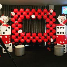 Vegas Theme Photobooth By Mallows & Moët Décor and Events