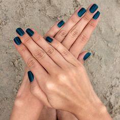 Spring nails!! Impala azul pavão
