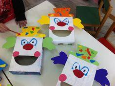 "fun-tastic 14: Ατομικό αποκριάτικο παιχνίδι :"" Τάισε τον κλόουν"" Clown Crafts, Carnival Crafts, Clowns, Activities For Kids, Crafts For Kids, Fair Theme, Alice In Wonderland, School, Blog"