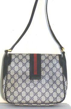 Authentic Gucci Vintage 1980s Designer Purse #gucci #vintage