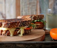 Joy the Baker – Persimmon Prosciutto and Brie Grilled Cheese
