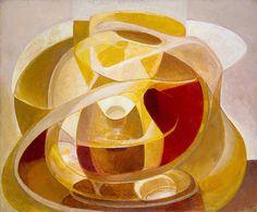 Collection Online | Naum Gabo. Construction in Depths. 1944 - Guggenheim Museum