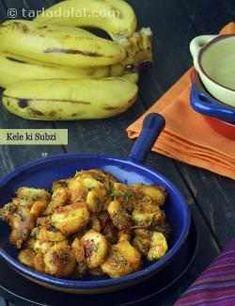 Quick Subzis Recipes : Cauliflower With Chutney, Brinjal Bharta, Stuffed Spinach In Spicy Tomato Gravy, Hara Bhara Khumb, Methi Mutter Pasanda. Subzi Recipe, Raw Banana, Tomato Gravy, Indian Kitchen, Curries, Sweet And Spicy, Chutney, Vegan Vegetarian, Spinach