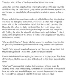 Marauders Sorting part CUTE PETER WHAT. And ouch, poor Sirius.<<<<But isn't peter a year younger than the other three? Harry Potter Love, James Potter, Harry Potter Universal, Harry Potter Fandom, Harry Potter World, Harry Potter Memes, Slytherin, Hogwarts, No Muggles