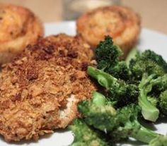 Oven Crisped Chicken Breasts Recipe by Healthycooking | ifood.tv