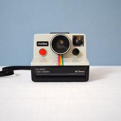 Classic Polaroid Land Camera II #productdesign #industrialdesign