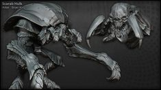 The Character Art of Darksiders II (new images pg 5, 6, 7) - Page 7