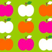 Apple_Trio_Green by aliceapple