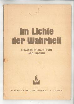 Im Lichte der Wahrheit - Verlag AG Sie Stimme (1937)