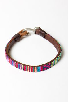 I have about 25 bracelets that look exactly like this and I can't stop being in love with them.