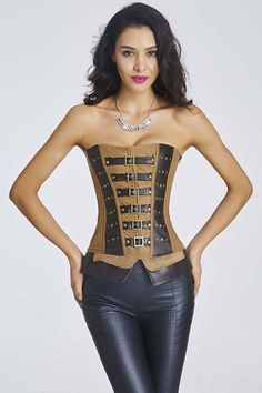 239add477a7 Atomic Mad About Steam Steel Boned Overbust Corset
