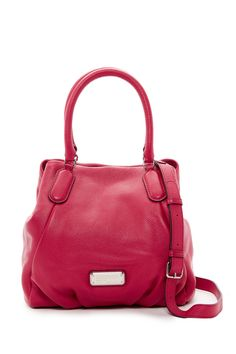 New Q Fran Leather Satchel by Marc Jacobs on @nordstrom_rack