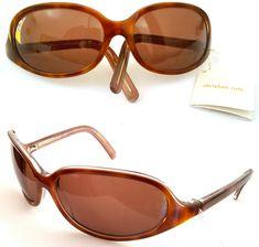 14346d8b9a VINTAGE Christian Roth 14224DA Sunglasses Tortoise Designer Frames Italy  90s NEW