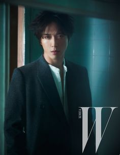 'Single Man' Jung Yonghwa For W Korea's January 2015 Edition | Couch Kimchi