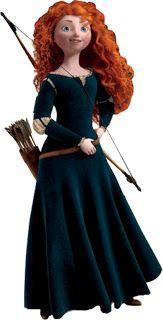 Valente (Brave - Disney) - Kit Completo com molduras para convites, rótulos para guloseimas, lembrancinhas e imagens!