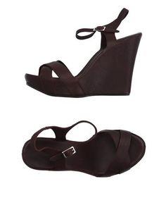 ROBERTO DEL CARLO Women's Sandals Deep purple 5.5 US