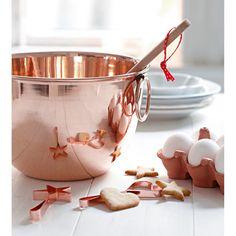 Maravilla, copper baking bowl