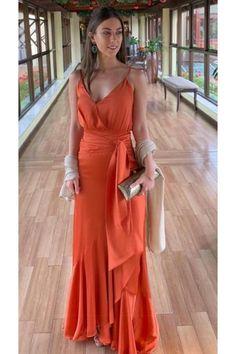 Long V-Neck Prom Dresses Formal Evening Gowns 6011122 V Neck Prom Dresses, Formal Dresses, Formal Prom, Dresses Dresses, Casual Dresses, Graduation Dresses, Fall Dresses, Summer Dresses, Outfit Trends