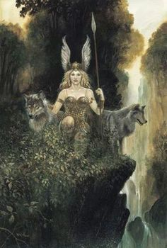 Valkyries and Freya - before Odin, the Mother angel Goddess was central to life of all tribes. This is also seen in Ishtar, Isis, Ma'at, Nephthys, Astarte, Lilith, and many other goddesses/the first angels. These angel goddesses were also prevalent in pre-American tribal nations, Indonesian, Tibetan and other cultures. For more Viking facts please follow and check out www.vikingfacts.com don't forget to support and follow the original Pinner/creator. Thx