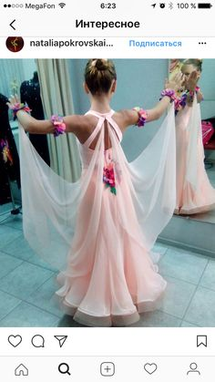 Absolutely Breath Taking Latin Ballroom Dresses, Ballroom Costumes, Ballroom Dance Dresses, Ballroom Dancing, Dance Costumes, Girls Dance Dresses, Little Girl Dancing, Dance Accessories, Fantasy Dress