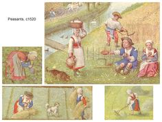 Tudor Peasants, c1520 | Flickr - Photo Sharing!