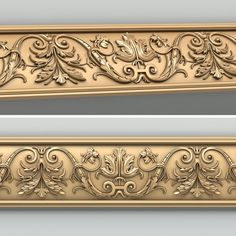 Molding 023 Model available on Turbo Squid, the world's leading provider of digital models for visualization, films, television, and games. Victorian Wall Decor, Arabic Decor, Moldings And Trim, Crown Molding, Flower Background Wallpaper, Modelos 3d, Decorative Mouldings, Carving Designs, 3d Models