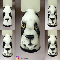 Panda  Użyte produkty: arte brillante white czarny paint retro chic chiquita banana wet look pędzelek master art.002  @indigonails  #nails #nailart #nailswag #tutorial #stepbystep #panda #art #nailsart #pazoo #indigo #nailsoftheday #nailstagram #nailsdone #instanails #instagood #inspiration