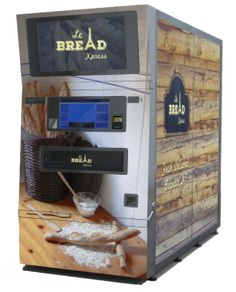 Le Bread Xpress, an automatic micro-bakery, cooks, stores and delivers fresh hot baguettes on demand. Two machines have already been installed in San Francisco, Calif., and three more are in process, according to the company. The machine can deliver warm baguettes in 10 seconds, and can store up to