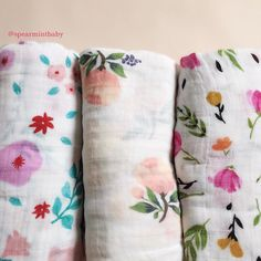 Floral Swaddles all restocked!  #LinkInProfile