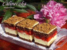 Calineczka Polish Desserts, Polish Recipes, Cookie Desserts, Sweet Recipes, Cake Recipes, Dessert Recipes, Yummy Treats, Delicious Desserts, Paleo Banana Muffins