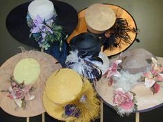 awesome hats for BMs, MOB/Gs??--** vintage hats