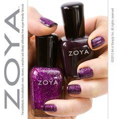 Zoya Nail Polish in Katherine Purple Nail Polish, Zoya Nail Polish, Pink Nails, Cute Nail Colors, Cute Nails, Mani Pedi, Manicure, Beauty Art, Art Tips