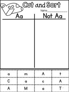 FREEBIE in the preview!!! Letter Identification {With an Interactive Twist}