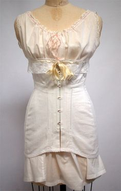 1910s Corset {Wearing History Blog}