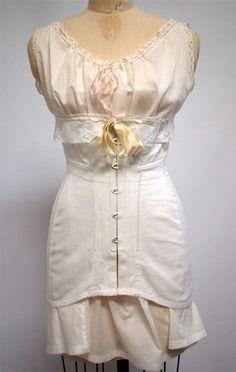 1910s Corset {Wearing History Blog}