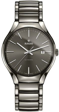 Rado Watch True L #add-content #bezel-fixed #bracelet-strap-ceramic #brand-rado #case-material-ceramic #case-width-40mm #date-yes #delivery-timescale-1-2-weeks #dial-colour-grey #gender-mens #luxury #movement-automatic #new-product-yes #official-stockist-for-rado-watches #packaging-rado-watch-packaging #style-dress #subcat-true #supplier-model-no-r27057102 #warranty-rado-official-2-year-guarantee #water-resistant-50m