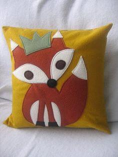 fox prince pillow