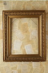Vintage Large Gold Frame at Free People