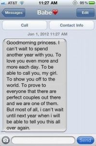 40 Cute Things to Text Your Boyfriend | herinterest.com