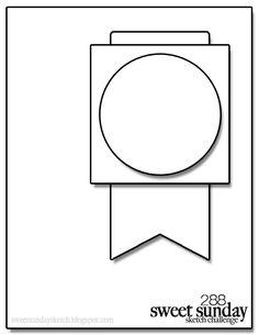 Sweet Sunday Sketch: Sweet Sunday Sketch Challenge #288 Reminder!