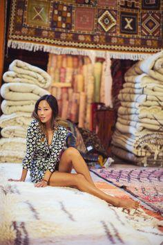 Aimee Song in Marrakech #JourneyofaDress @songofstyle