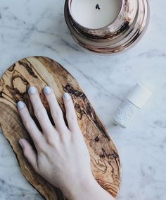 Mariah Leonard (thegalsguide) using I'm Soar-t of a Big Deal from the Cloud 9 collection! #nails #cloud9 #grey #neutrals #nailpolish #luxury