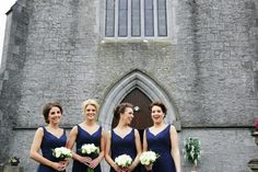 Bridesmaid Inspiration- Mix Or Match Your Beautiful Maids? Bridesmaids, Bridesmaid Dresses, Wedding Dresses, Bridesmaid Inspiration, West Coast, Ireland, Weddings, Beautiful, Fashion