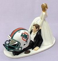 Ok maybe not for Jess' wedding but a great idea for anyone marrying a sports fan!