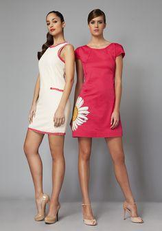 Vestido gran girasol by Niza on http://www.nizaonline.com/es/es/vestido-grande-girasol.html
